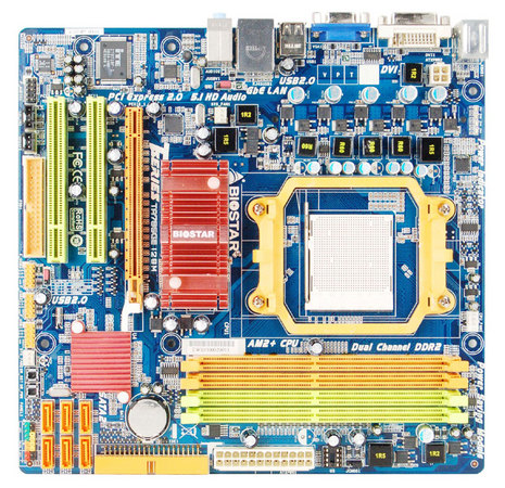 TA785GE 128M AMD Socket AM2+ gaming motherboard