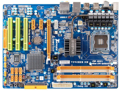 TP43E3 XE INTEL Socket 775 gaming motherboard