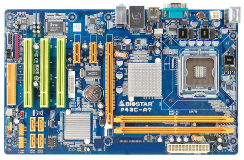P43C-A7 INTEL Socket 775 gaming motherboard