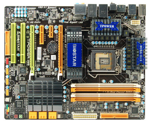 TPower I55 INTEL Socket 1156 gaming motherboard