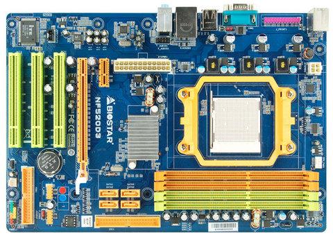 NF520D3 AMD Socket AM3 gaming motherboard