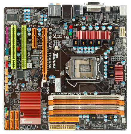 TH55XE INTEL Socket 1156 gaming motherboard