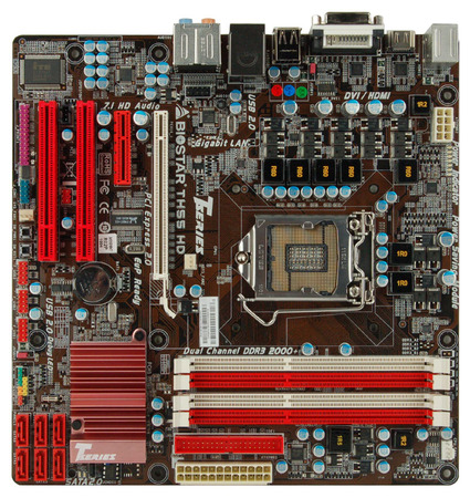 TH55 HD INTEL Socket 1156 gaming motherboard