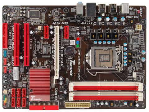 TP55 INTEL Socket 1156 gaming motherboard
