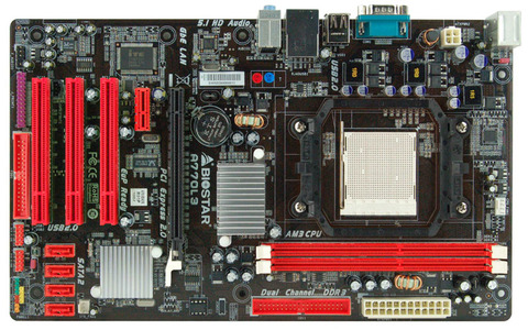 A770L3 AMD Socket AM3 gaming motherboard