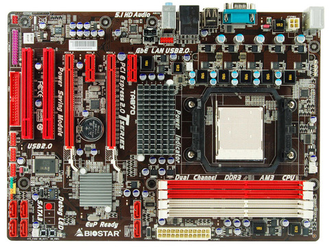 TA870 AMD Socket AM3 gaming motherboard
