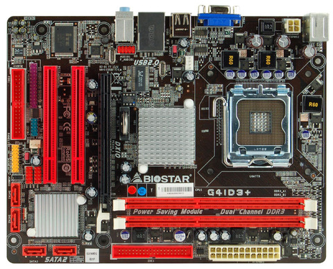 G41D3+ INTEL Socket 775 gaming motherboard