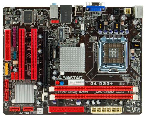 G41D3G+ INTEL Socket 775 gaming motherboard