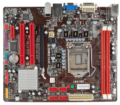 H61ML INTEL Socket 1155 gaming motherboard