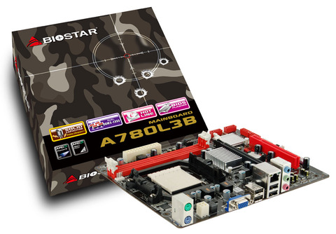 A780L3B AMD Socket AM3 gaming motherboard