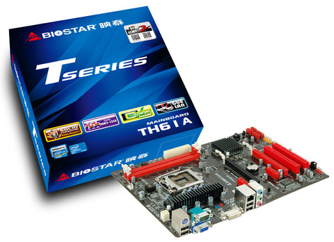 TH61A INTEL Socket 1155 gaming motherboard