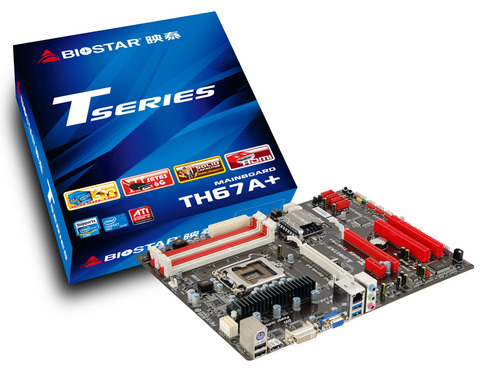 TH67A+ INTEL Socket 1155 gaming motherboard