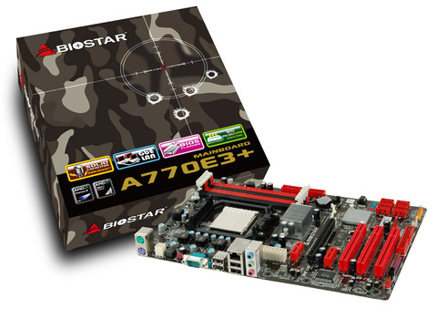 A770E3+ AMD Socket AM3 gaming motherboard