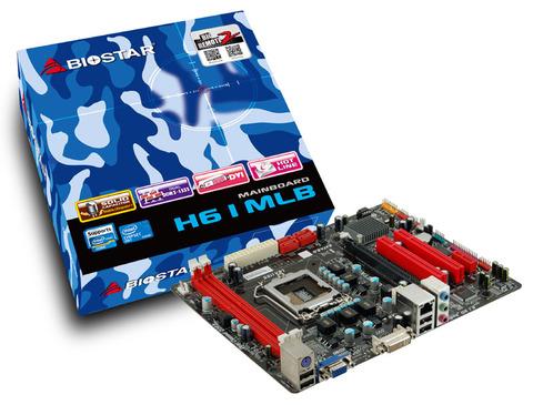 H61MLB INTEL Socket 1155 gaming motherboard