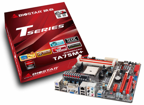 TA75M+ AMD Socket FM1 gaming motherboard