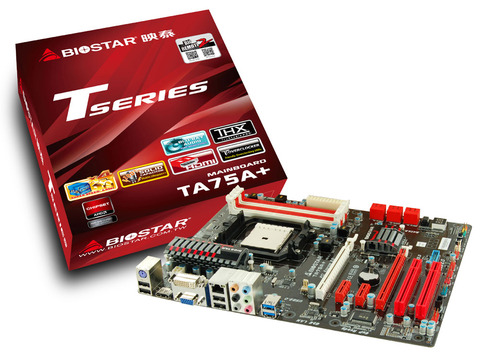 TA75A+ AMD Socket FM1 gaming motherboard
