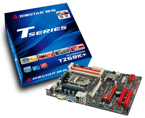 TZ68K+ INTEL Socket 1155 gaming motherboard