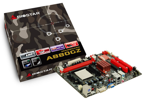 A880GZ AMD Socket AM3+ gaming motherboard
