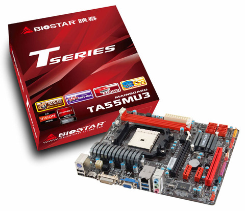 TA55MU3 AMD Socket FM1 gaming motherboard