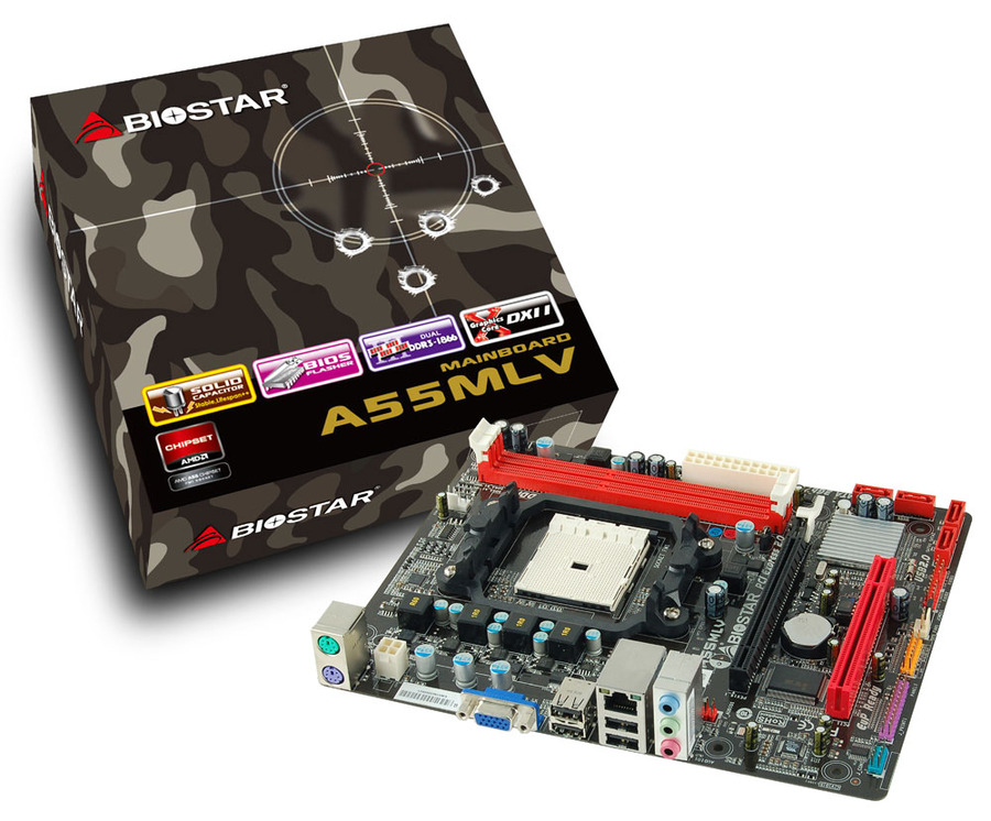 A55MLV AMD Socket FM1 gaming motherboard