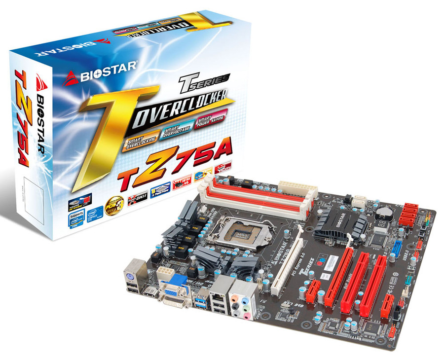 TZ75A INTEL Socket 1155 gaming motherboard