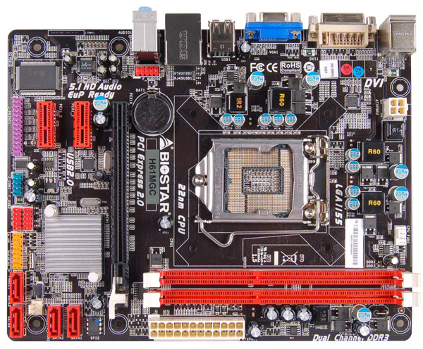 H61MGC INTEL Socket 1155 gaming motherboard
