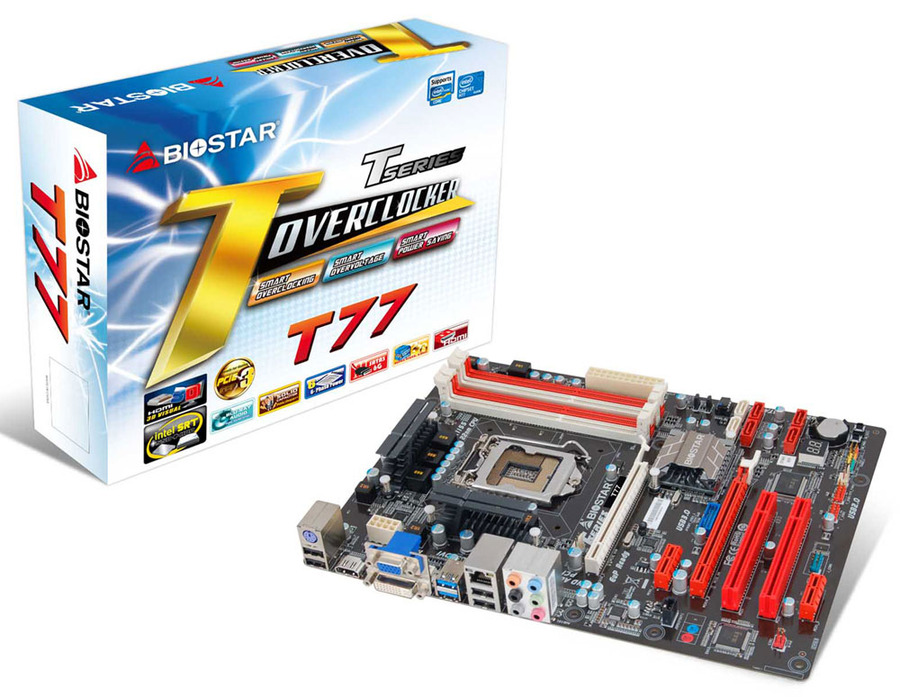 T77 INTEL Socket 1155 gaming motherboard