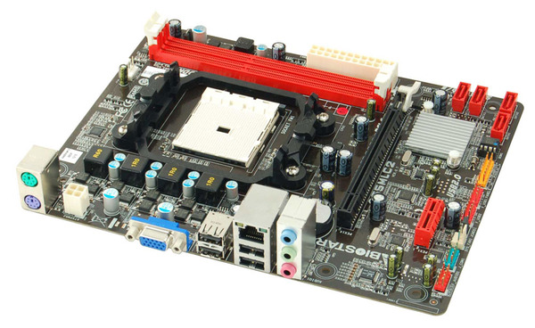 A55MLC2 AMD Socket FM1 gaming motherboard