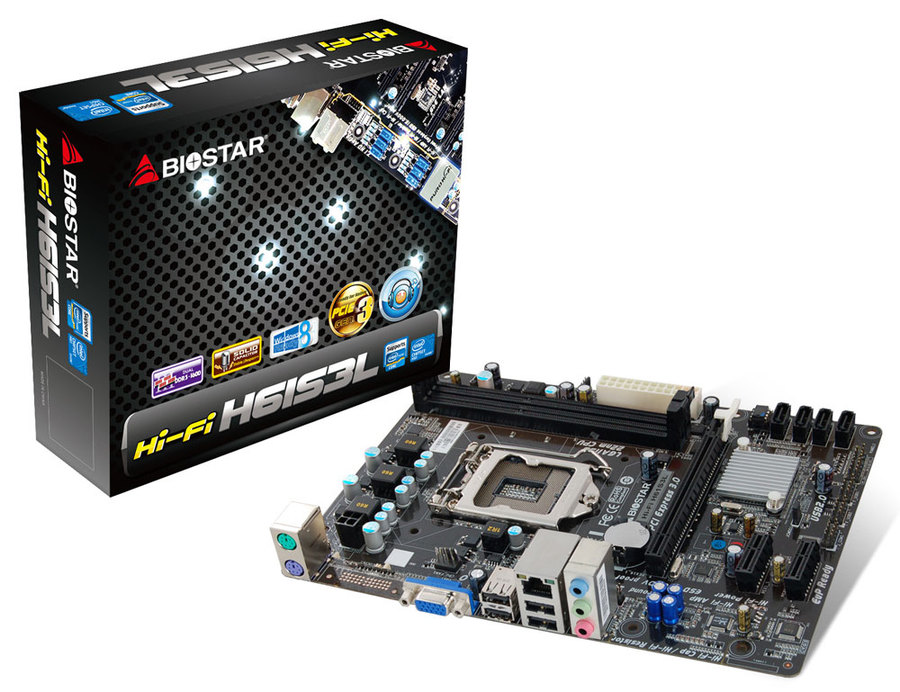 Hi-Fi H61S3L INTEL Socket 1155 gaming motherboard