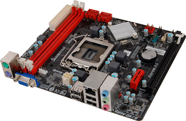 H61MGV3 INTEL Socket 1155 gaming motherboard