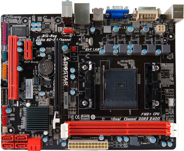 A58M AMD Socket FM2+ gaming motherboard