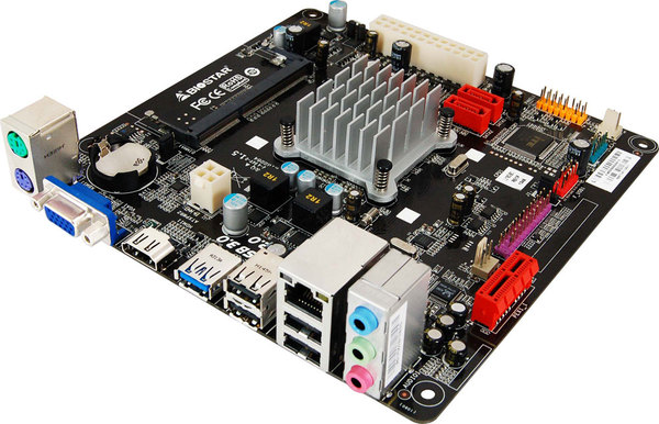 J1800NH INTEL CPU onboard gaming motherboard