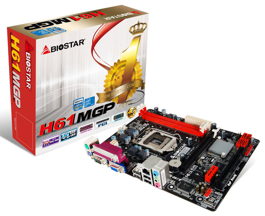 Biostar H61MGP Driver Download