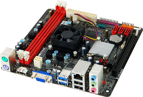 A68I-E350 DELUXE AMD CPU onboard gaming motherboard