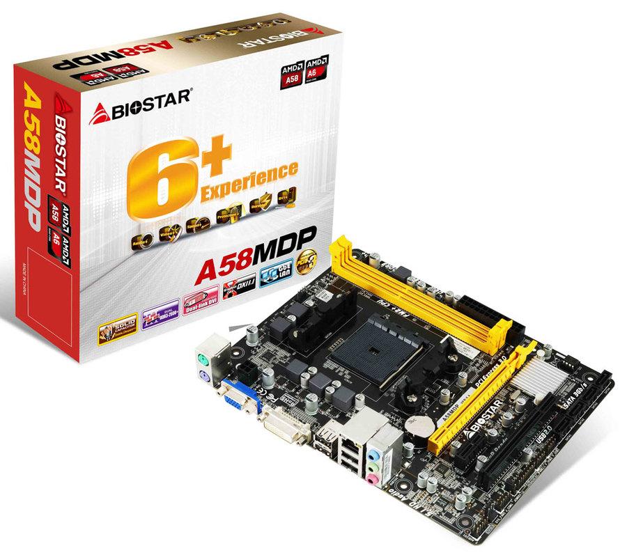 Biostar A58MDP Ver. 6.1 AMD RAIDXpert Drivers for PC
