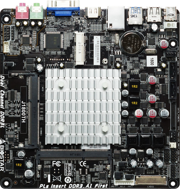 J1800TH INTEL CPU onboard gaming motherboard