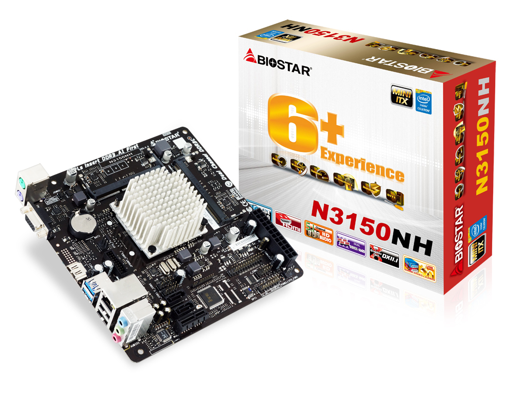 N3150NH INTEL CPU onboard gaming motherboard
