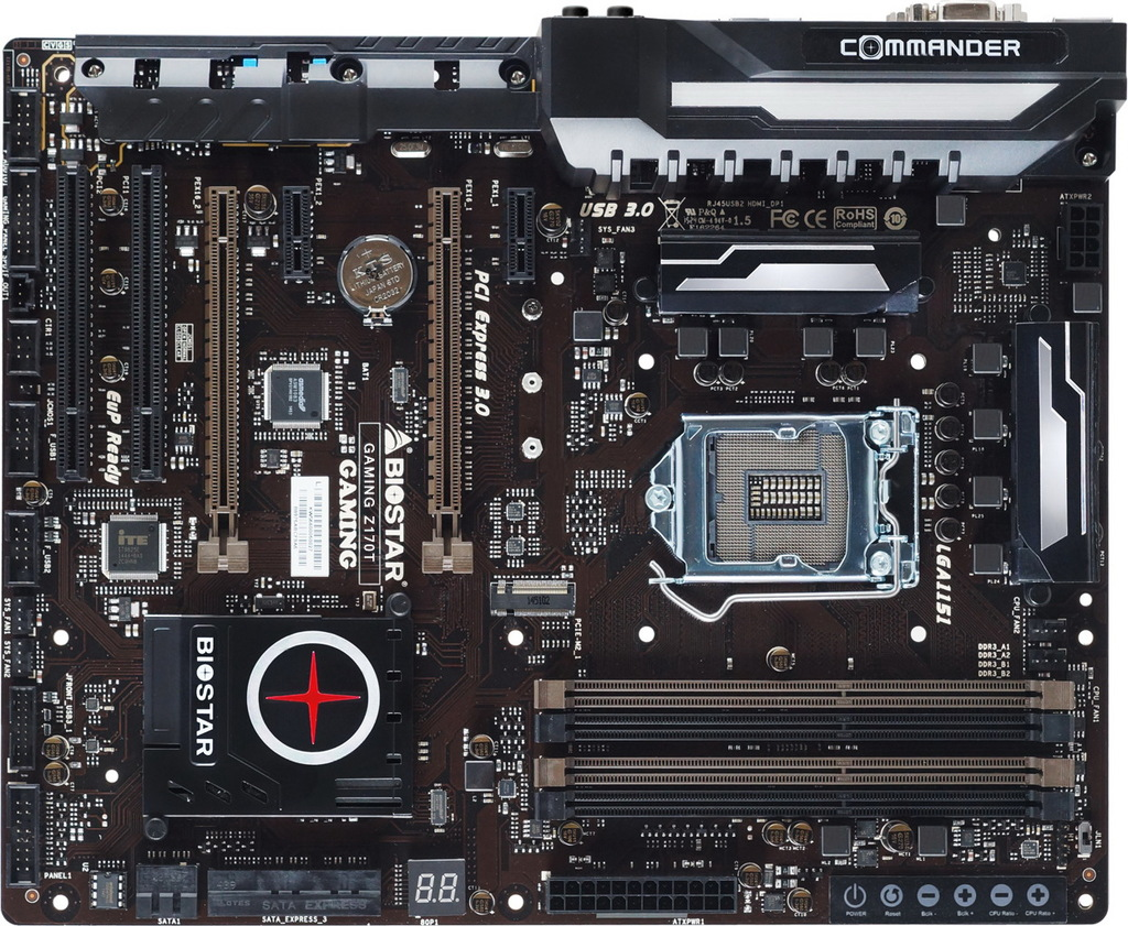GAMING Z170T INTEL Socket 1151 gaming motherboard