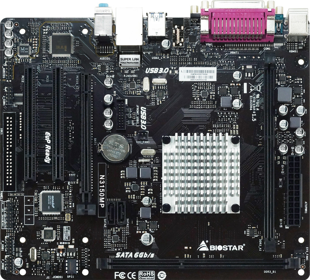 N3150MP INTEL CPU onboard gaming motherboard