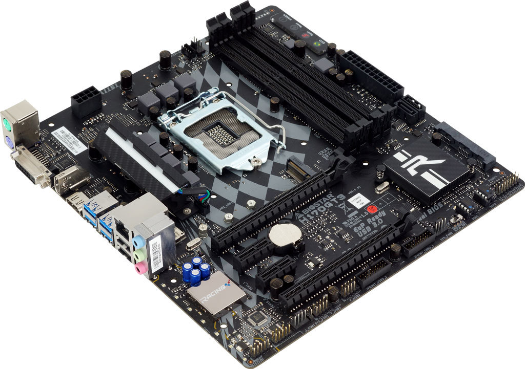 H170GT3 INTEL Socket 1151 gaming motherboard