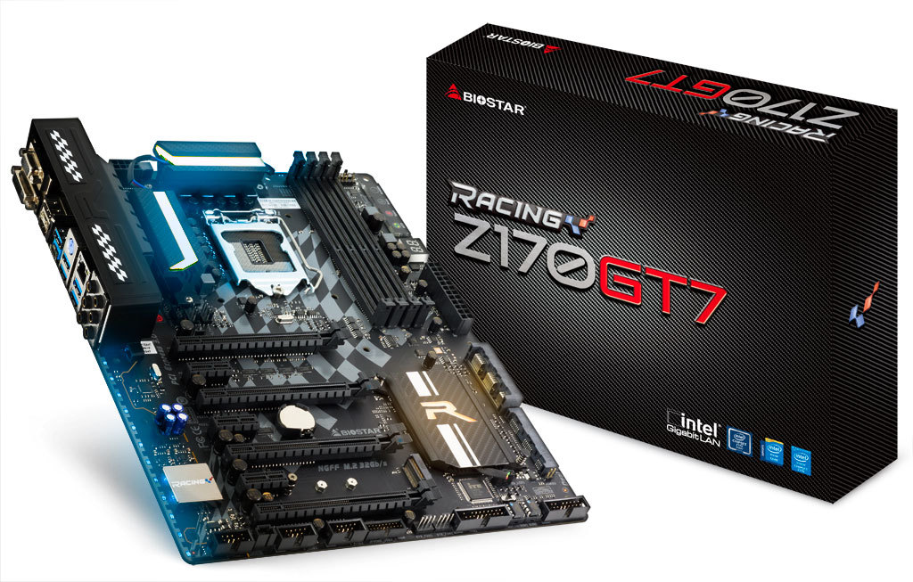 Z170GT7 INTEL Soket 1151 gaming motherboard