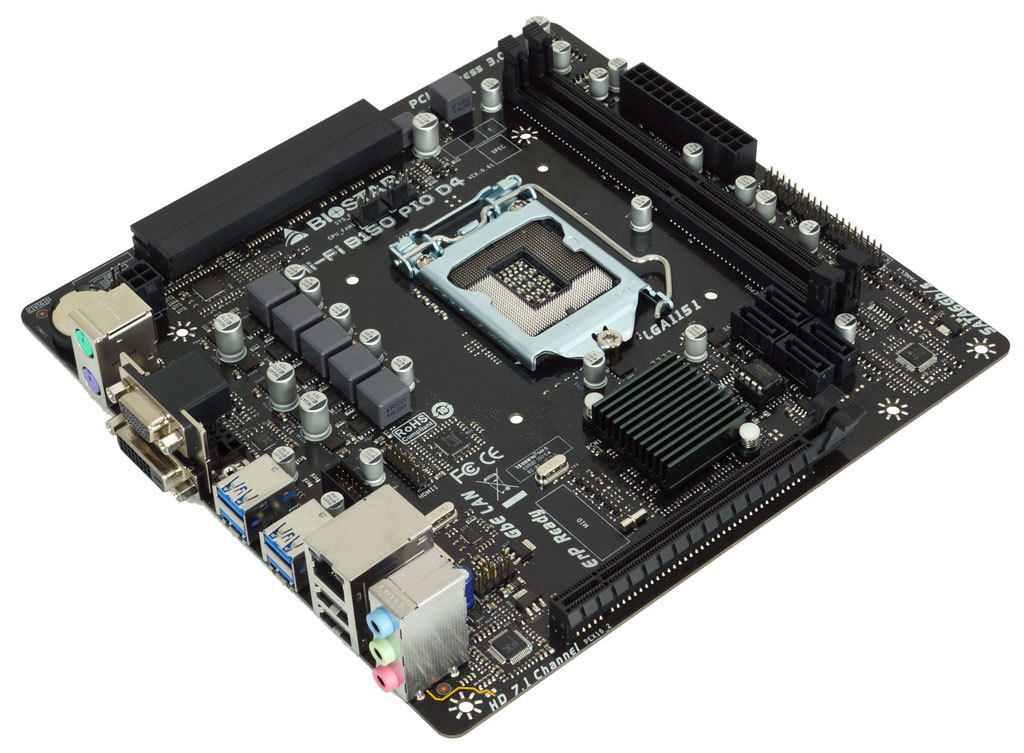 Hi-Fi B150 PIO D4 INTEL Socket 1151 gaming motherboard