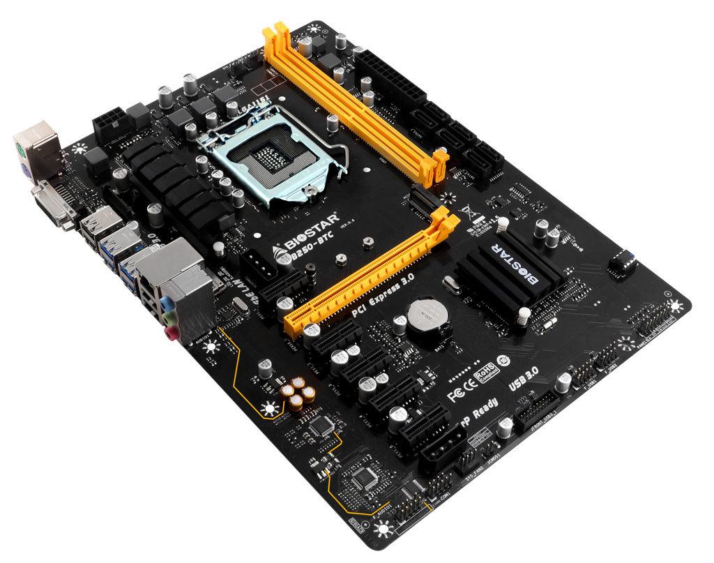 Tb250 Btc Mining Motherboard Intel For Bitcoinethereum Biostar H61 Suport I3 I5 I7 Lga 1155 Socket 1151 Gaming
