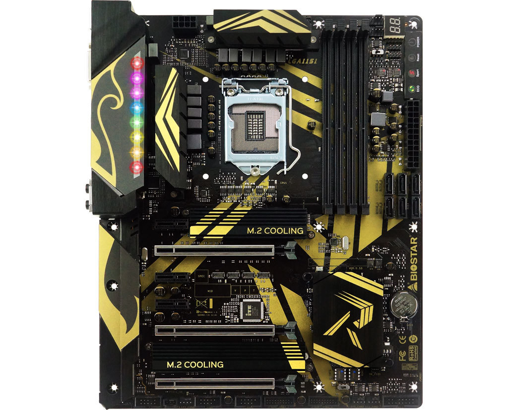 Z370GT7 INTEL Socket 1151 gaming motherboard