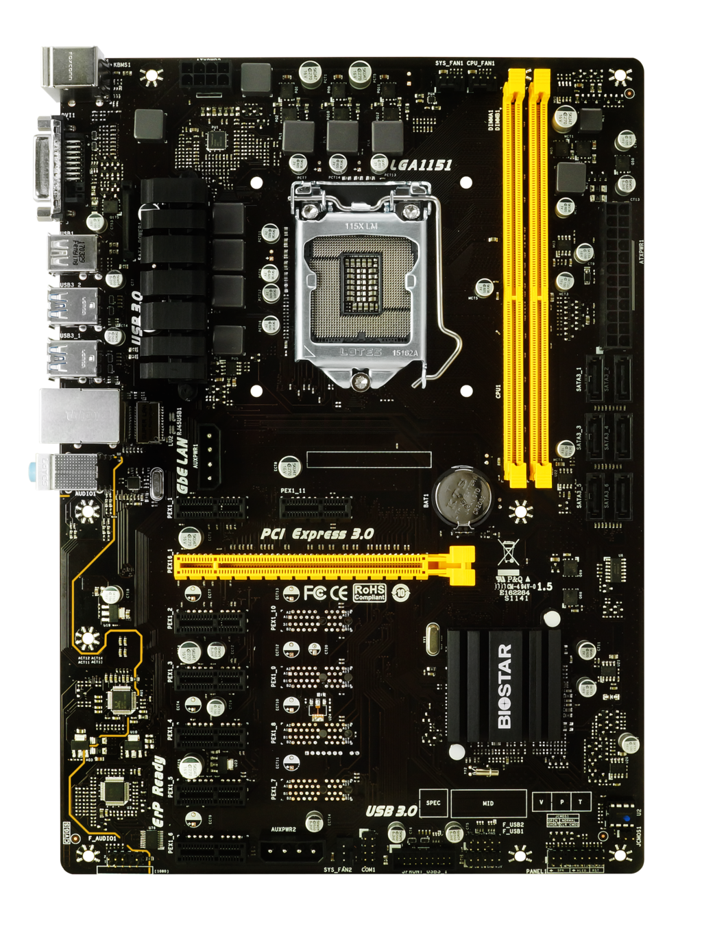 TB250-BTC+ INTEL Soket 1151 gaming motherboard
