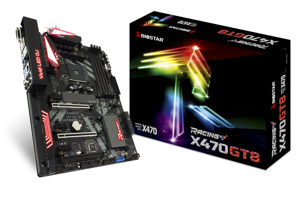 X470GT8 AMD 소켓 AM4 gaming motherboard