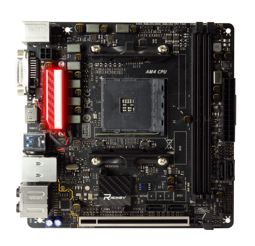 X470GTN AMD Socket AM4 gaming motherboard