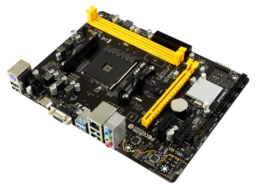 A320MH AMD Socket AM4 gaming motherboard