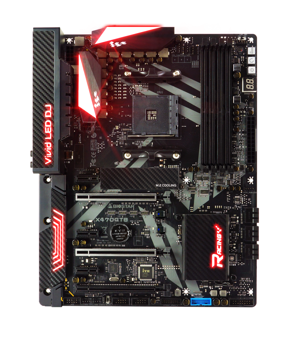 X470GT8 AMD Soket AM4 gaming motherboard