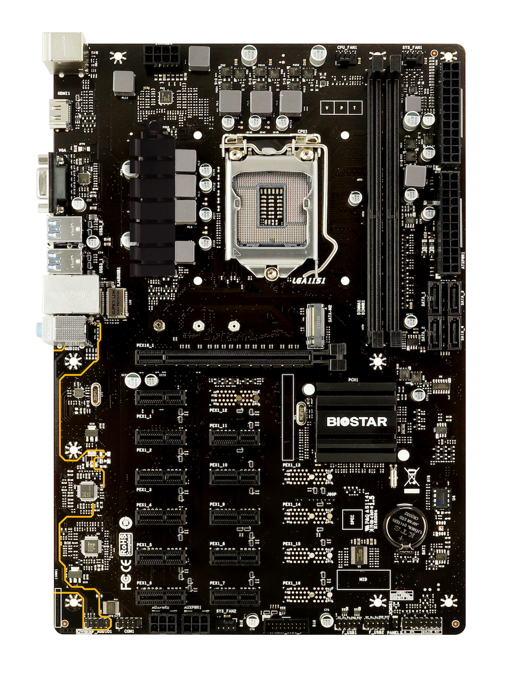 TB360-BTC PRO INTEL Socket 1151 gaming motherboard